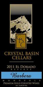 Crystal Basin Cellars Barbera